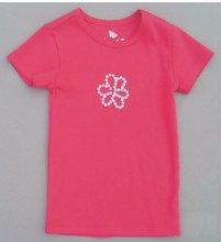 100% pure cotton jersey boy's red print sport short-sleeved T-shirt children's summer clothes