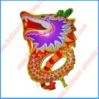 Shape Chinese Dragon Mylar Balloon(self sealing balloon, requires helium inflation)