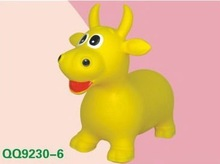 CE certified, PVC, inflatable jumping animals/ jumping horse/ rides on animal