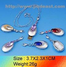 Metal code jewelry 2GB 4GB 8GB 16GB 32GB OEM memory stick/ drive