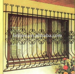 metal window grills design