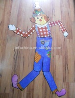Halloween Jointed Paper Cutout