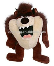 Plush lion with big mouth