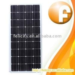 120w 130w CE& ROHS solar panel prices lowest