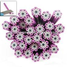 20x New Charms Purple Flower Nail Art HN386