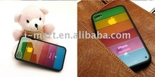 for iPhone 4G Rainbow crystal hard cover case