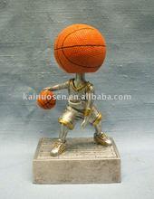Hotsale resin award for basketball