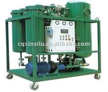 Vacuum waste turbine oil filter /oil purifier system