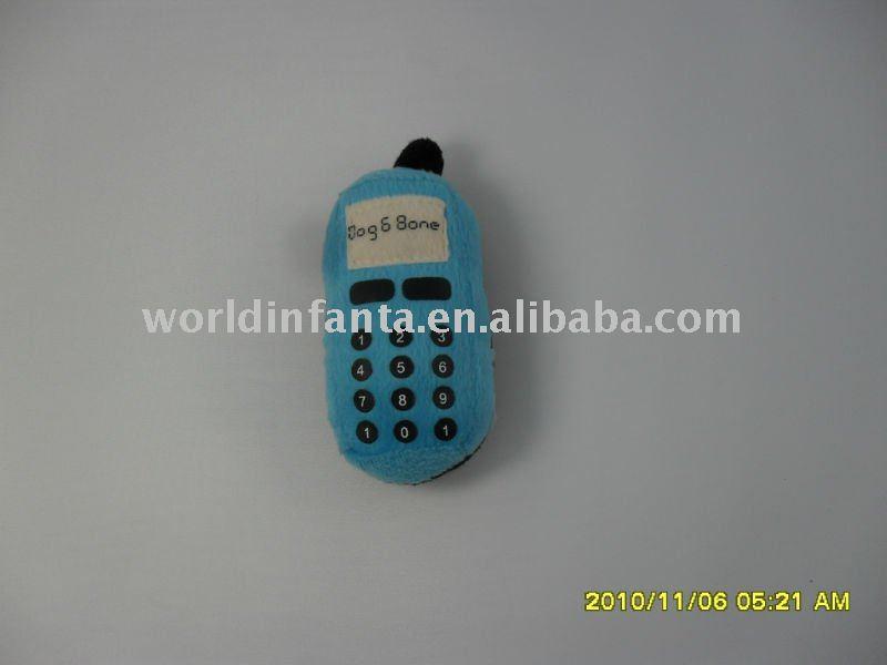stuffed mobile phone toy plush toy(China (Mainland))