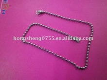 gun metal colored ball chain manufacturer from China