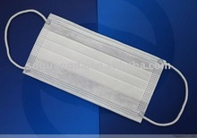 white disposable indoor protection mask175*95