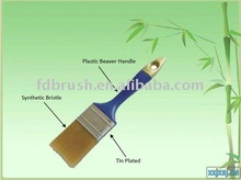 golden synthetic hollow fiber PAINT BRUSH BE103
