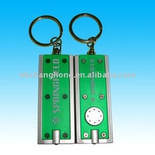 colorful plastic key chains -- concise rectangle design