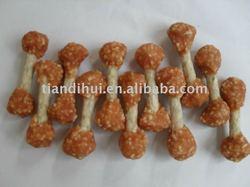 Dog food dog treat pet food Chicken rice dumbell bone