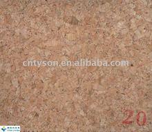 real wood surface cork sheet roll