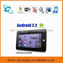 7inch flash10.1 VIA 8650 Android 2.2 umpc