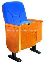 Wood auditorium chair