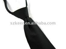 100%silk zipper tie