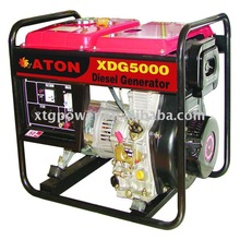 ATON 4.5/5.0kw, 9hp engine , Air-cooled , open type, Diesel Generator