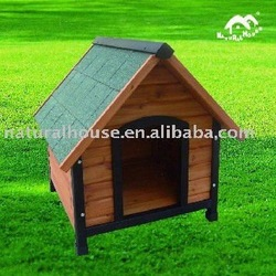Item no.DH-3 handmade wood dog kennel