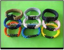 Strong Paracord 550# Survival Strap, Ladies Survival Bracelet, Kids Survival Straps Paracord