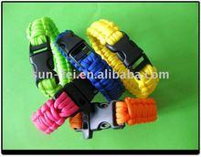 550# Paracord Survival Strap, Dog Survival Bracelet, Survival Straps Paracord
