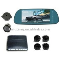 7inch rearview car parking sensor with camera