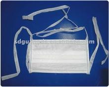 145*95mm White children infection tieback mask