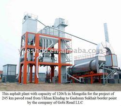 Asphalt Mixing Plant LBJ1500 in Mongolia