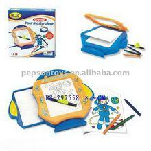 children plastic erasable magnetic drawing board
