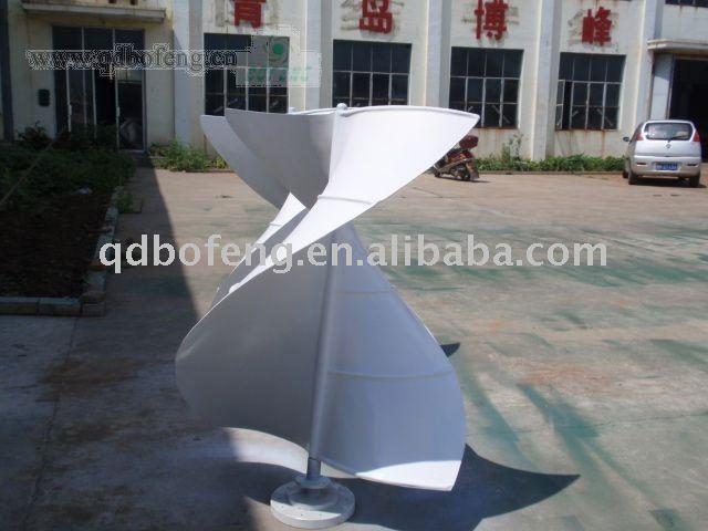 Vertical molino de viento
