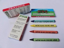 4C Kids Crayons; Kids toys promotion gift