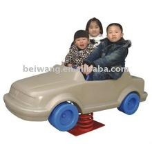 plastic spring rocking horse ( automobile )