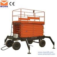 scissor lift platform/electrical hoist price