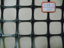 Biaxial plastic geogrid 15-15KN for road construction