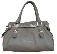 Foldover zip shoulder bags newest summer fashion leather bag 2012