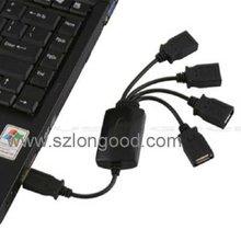 High-Speed USB 2.0 4-Port Hub