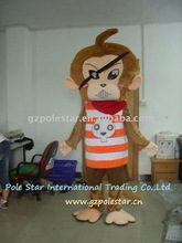monkey/clever mascot costume
