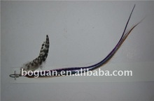 wholesale syntetic top quality realy feather extension