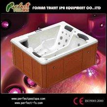 Sitting bathtub/bathroom corner body massage hot tub
