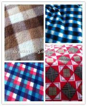 100% polyester printing polar fleece fabric