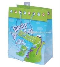 2012 top sale Happy birthday sound paper printing bag