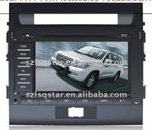 8''TOYOTA LAND CRUISER 2010 2011 Car PC Navi Monitor dvd Device with GPS BT TV RADIO PIP 3D MENU ST-8888
