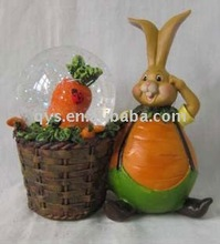 Resin rabbits crafts