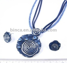 Fashion Jewelry wholesale, Fashion enamel Jewelry set in mixed colours