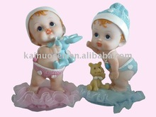 resin baby christening gift items