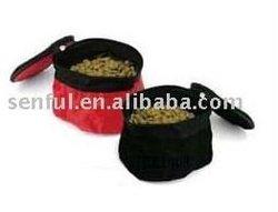Travel Pet Bowl Pet Food/Water Bowl