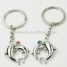 new dolphin lovers key ring with logo