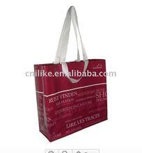 Hot sale pp woven shopper bag