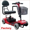 MINI Cheapest manufactory light weight disable and Folding 4 wheel mini mobility scooter with CE & FDA